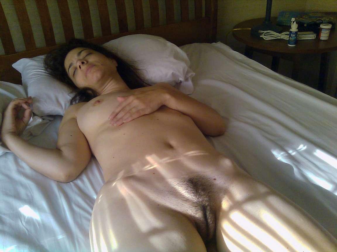 Sleeping Girl Ru Nude